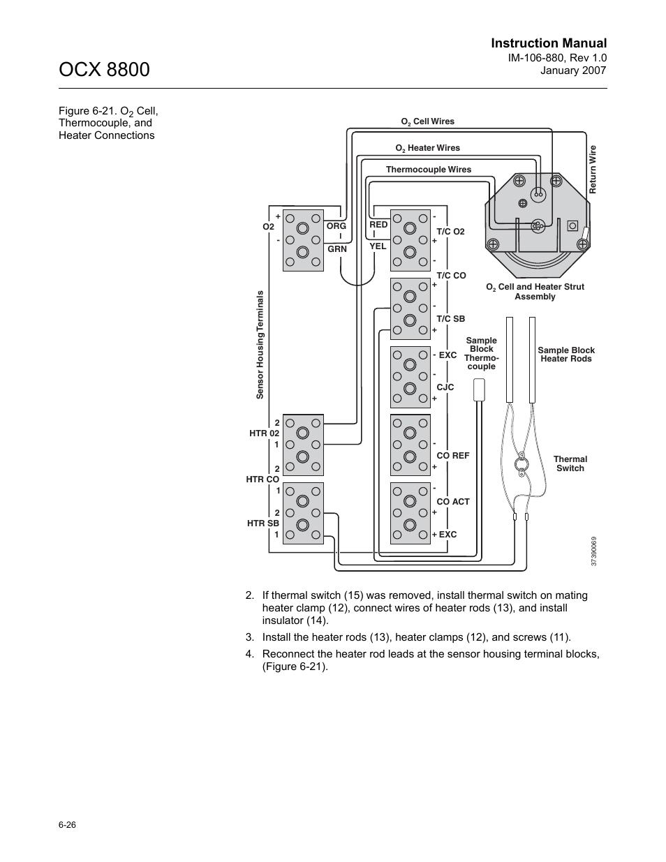 ocx 8800, instruction manual | emerson rosemount ocx 8800 user manual |  page 88 / 164