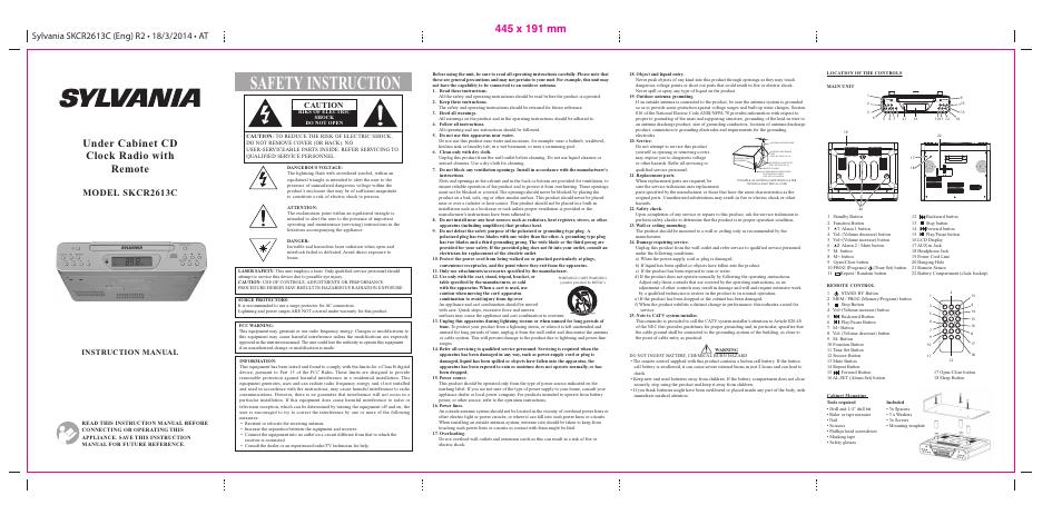 curtis skcr2613c user manual 2 pages rh manualsdir com