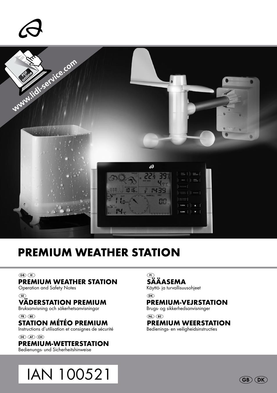 Auriol weather station h13726 manual transfer