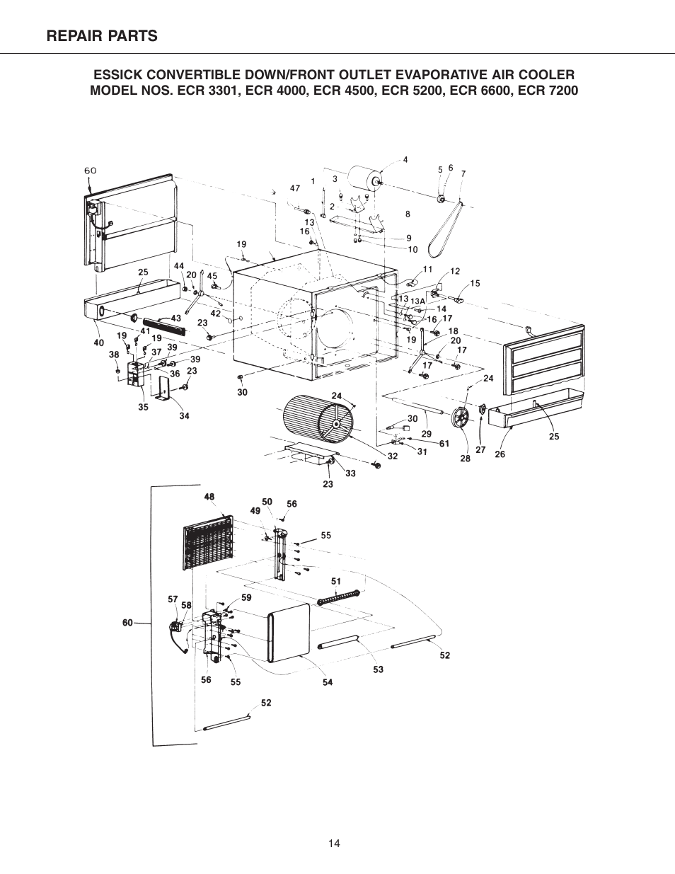 Essick Air Ecr 7200 User Manual Page 14 16 Also For