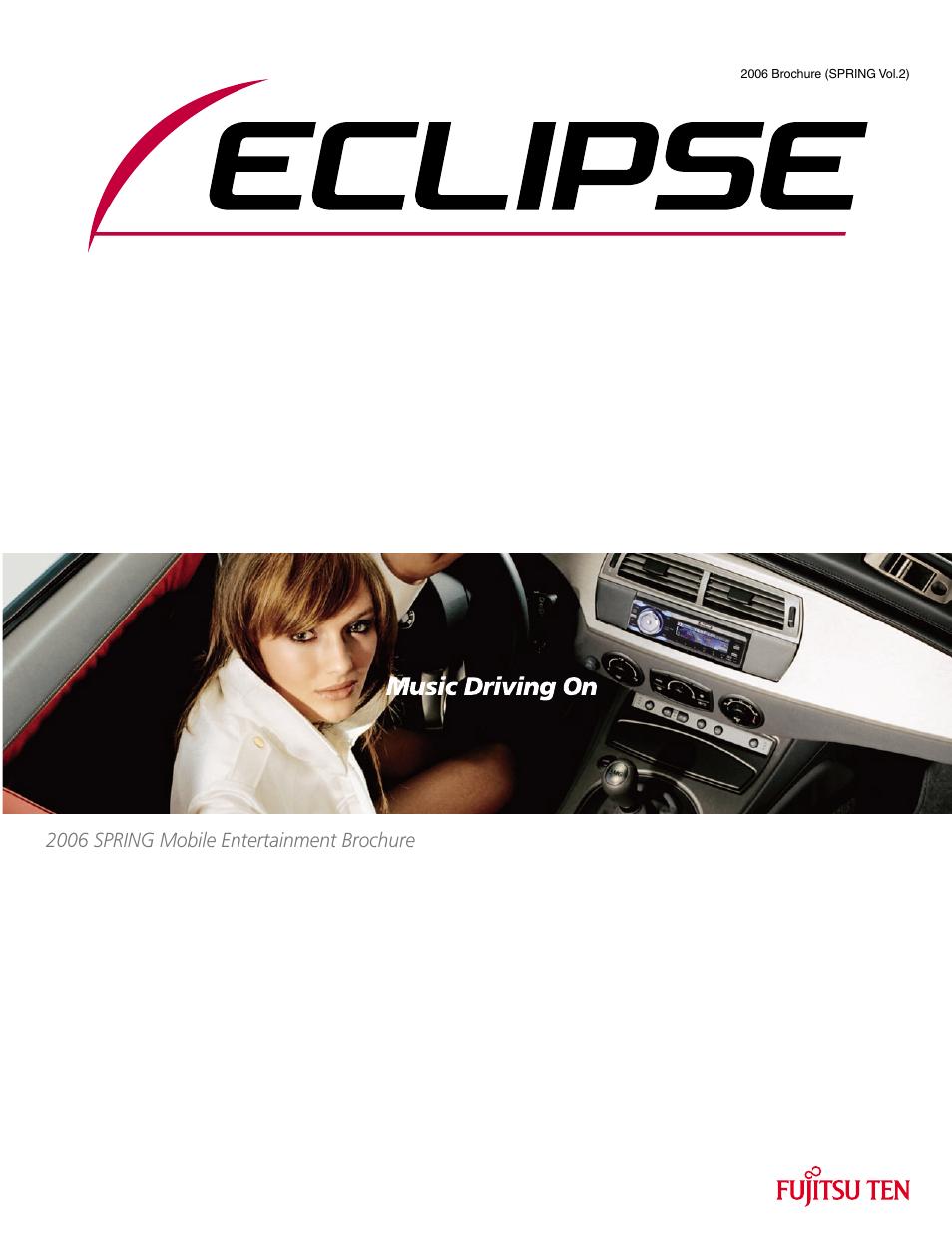 eclipse fujitsu ten eclipse avn7000 user manual 36 pages also rh manualsdir com Eclipse Map Disc Eclipse Double Din Deck