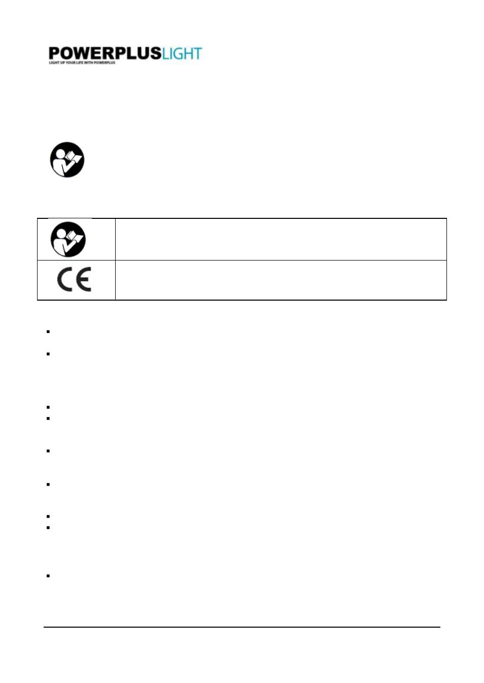 Powerplus Powli240 Led Floodlight 30w En User Manual 2 Pages Wiring Diagram