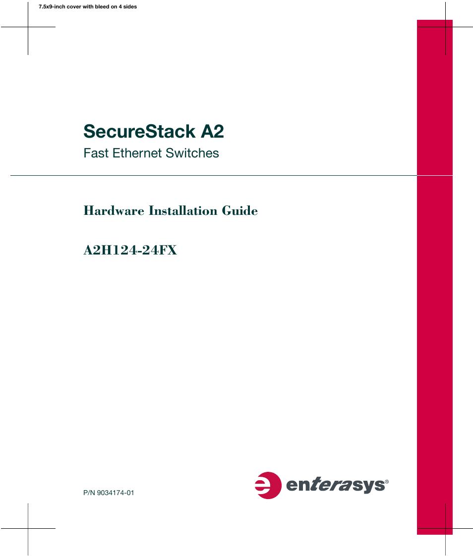 enterasys networks a2h124 24fx user manual 82 pages rh manualsdir com