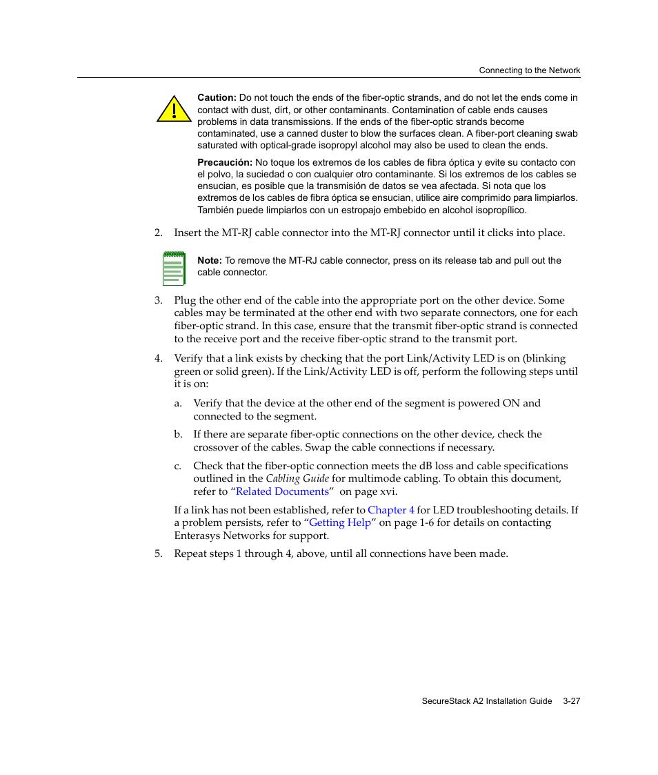 enterasys networks a2h124 24fx user manual page 55 82 original rh manualsdir com