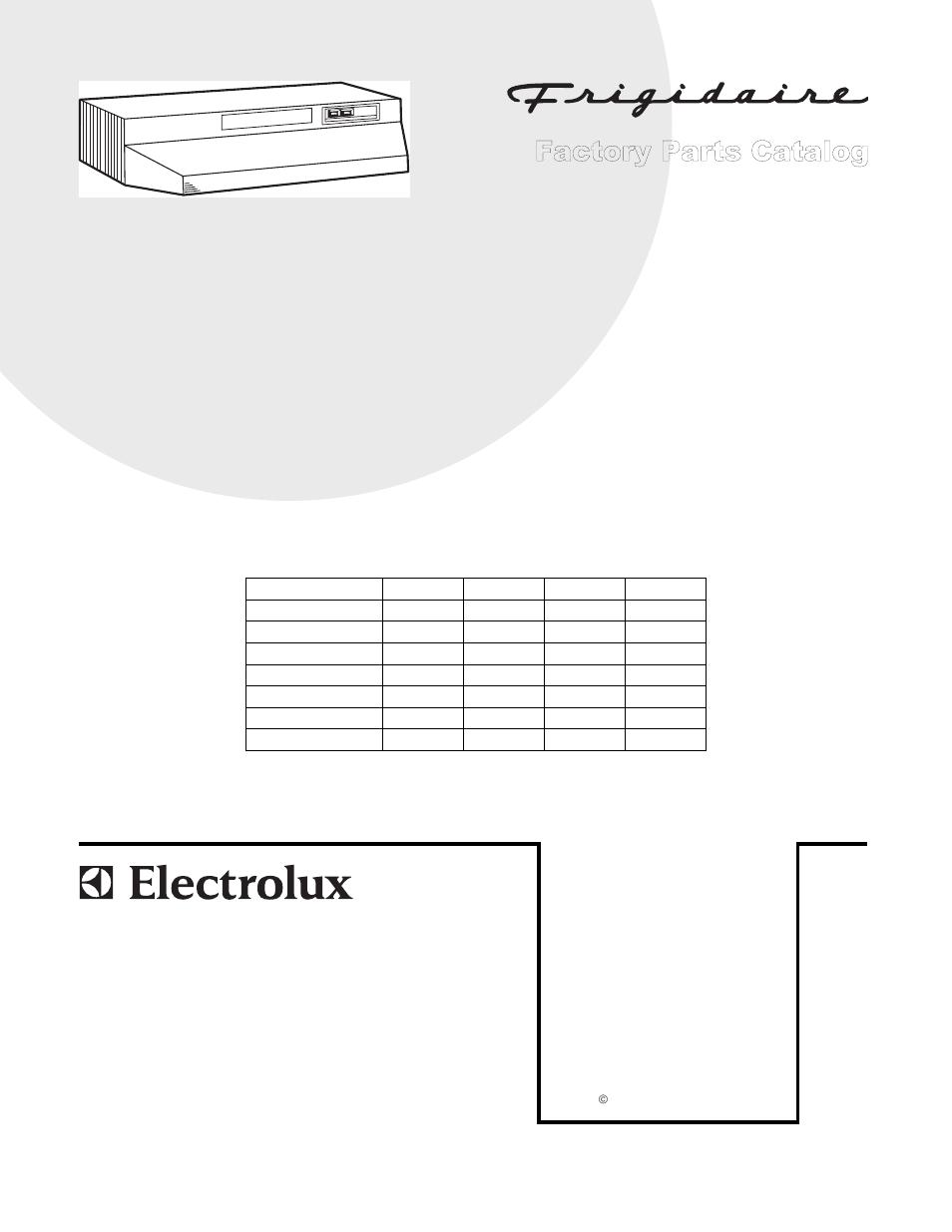 Electrolux Range Wiring Diagram Explained Diagrams Microwave E30m075hps Frigidaire F30wc19e User Manual 4 Pages Miele Vacuum Parts