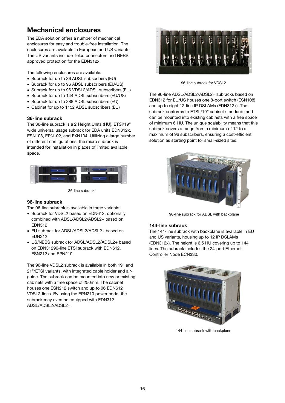 mechanical enclosures ericsson solution description eda 1200 4 0 rh manualsdir com ericsson rx8200 user manual ericsson consono md110 user manual