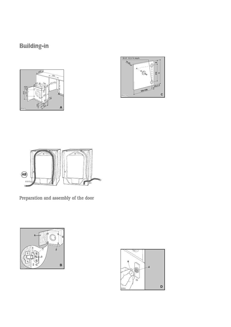 building in preparation and assembly of the door electrolux rh manualsdir com User Manual Template Manuals in PDF