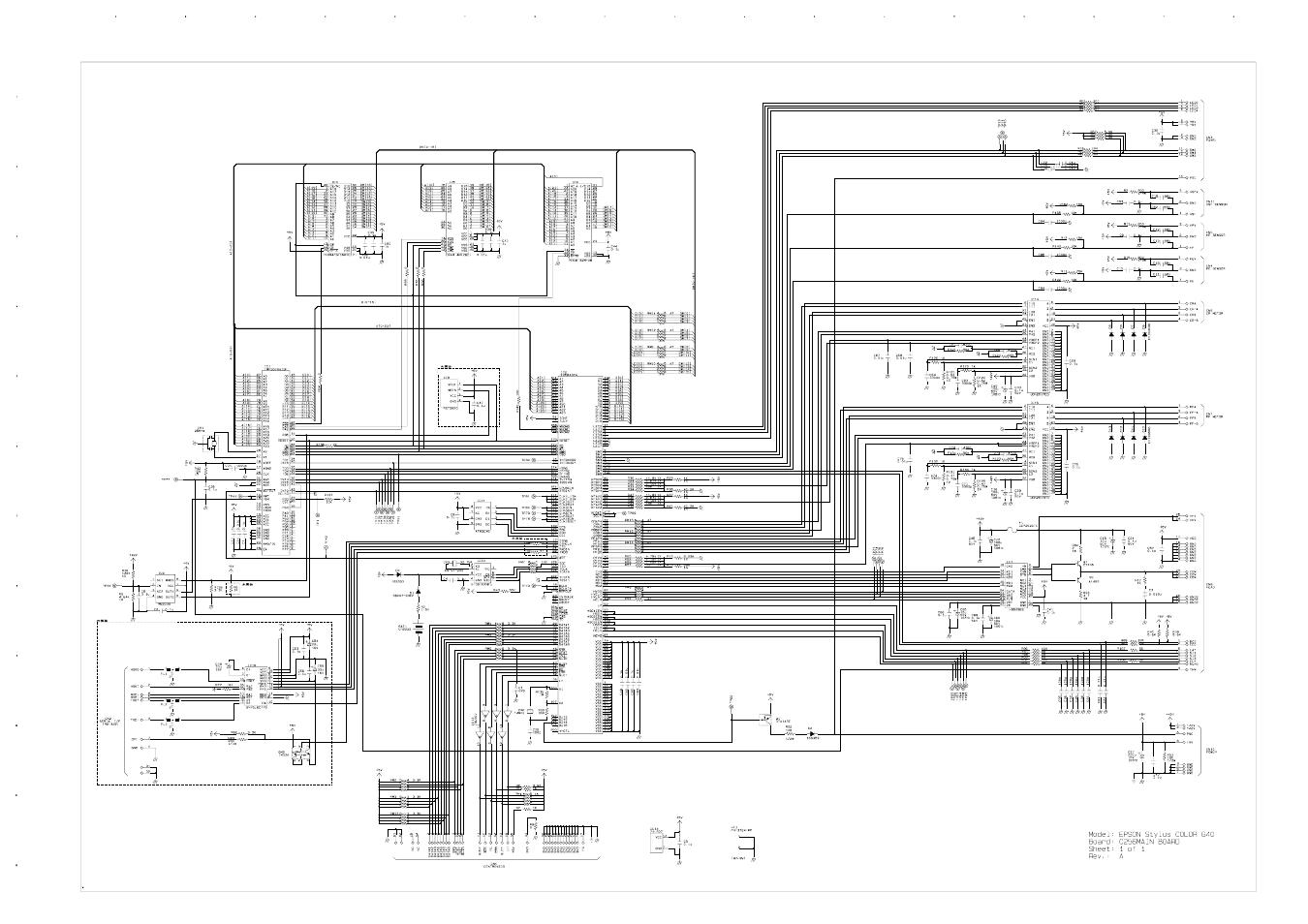 C256main Circuit Diagram