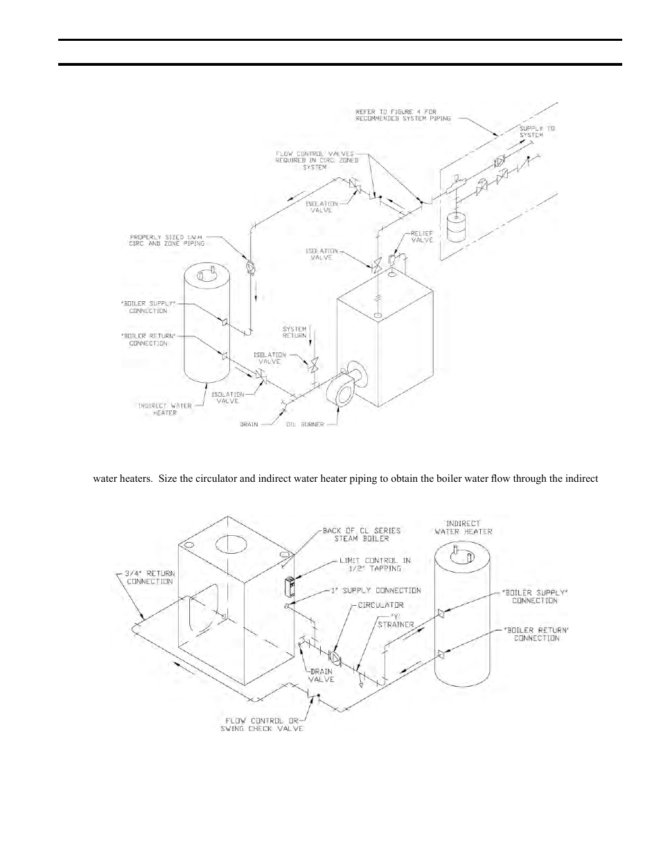 Iii indirect water heater piping energy tech laboratories new iii indirect water heater piping energy tech laboratories new yorker cl series user manual page 23 52 ccuart Choice Image