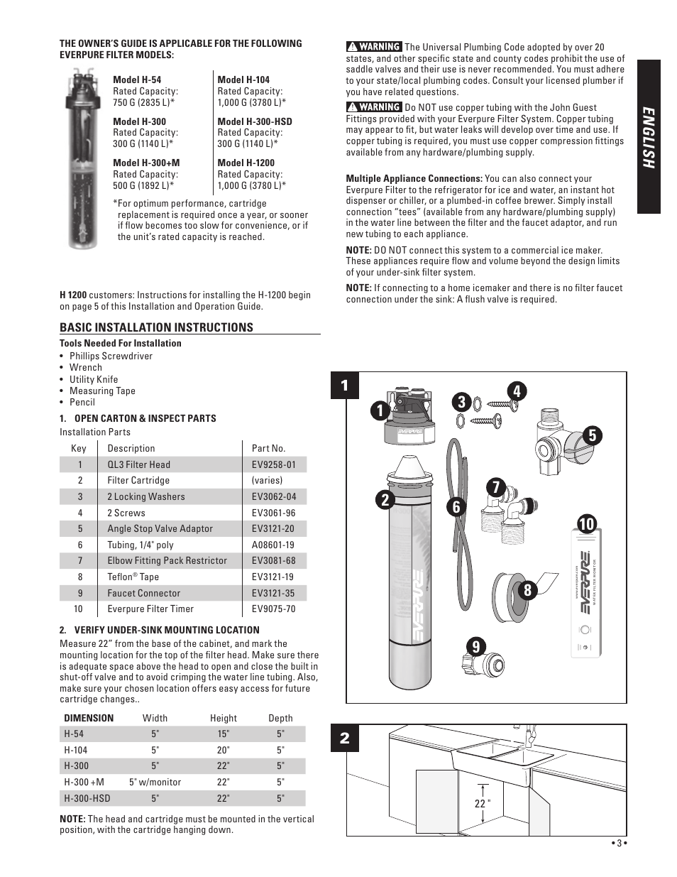 How To Install H Manual Guide