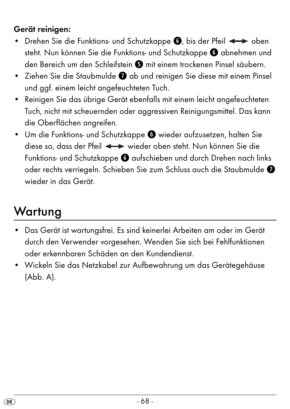 wartung silvercrest seas 20 a1 user manual page 71 74 rh manualsdir com Owner's Manual Manuals in PDF