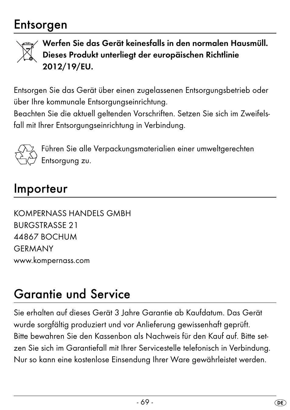 entsorgen importeur garantie und service silvercrest seas 20 a1 rh manualsdir com sears user manuals Manuals in PDF