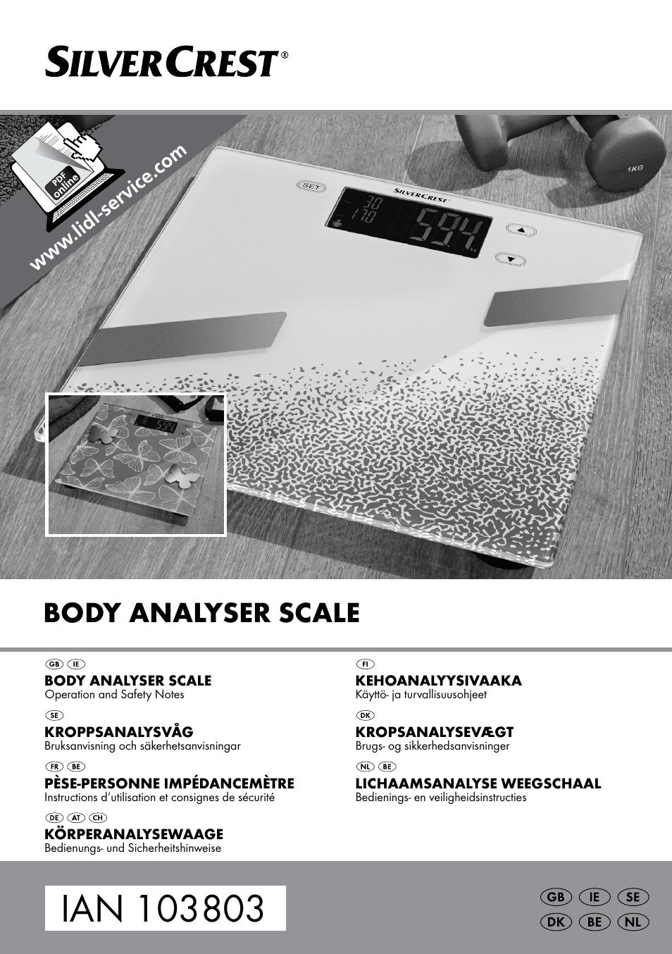 lichaamsanalyse weegschaal betrouwbaar