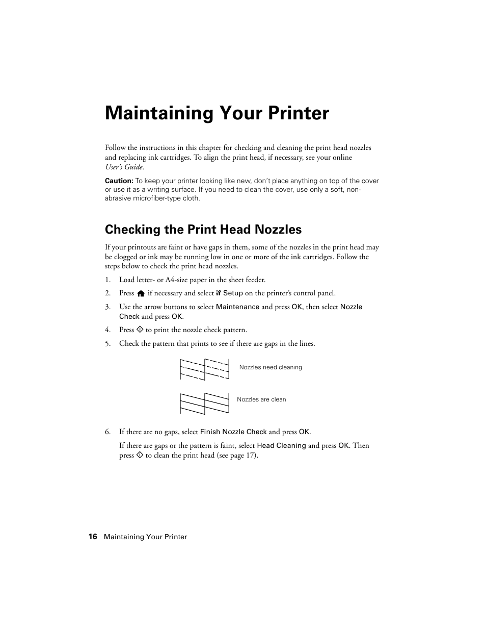 How to clean an epson printhead – printer guides and tips from ld.