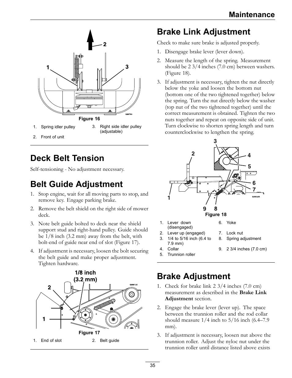 Craftsman Mower Deck Belt Tension Manual Guide