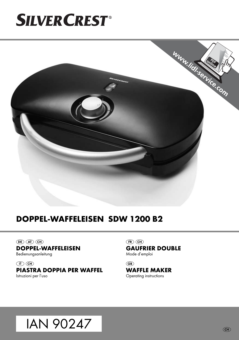 Silvercrest Sdw 1200 B2 User Manual 44 Pages
