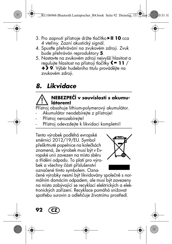 likvidace silvercrest sbl 44 a1 user manual page 94 142 rh manualsdir com PRO-94 Scanner Software PRO-94 CB