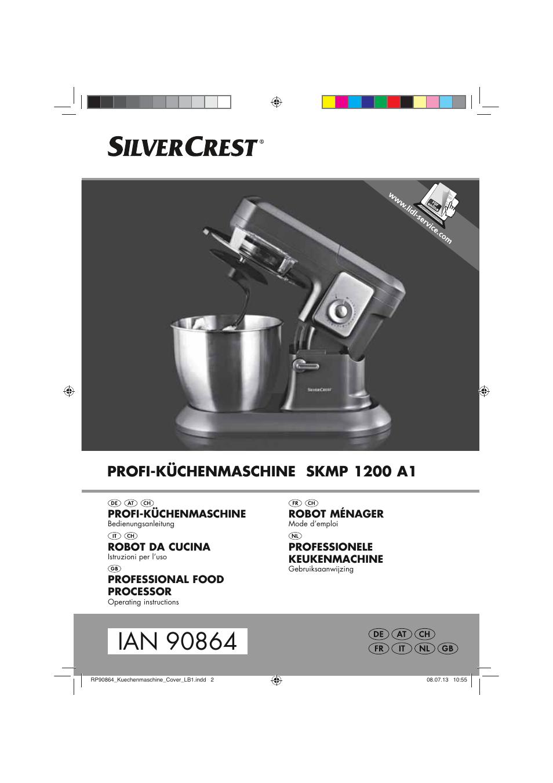 Silvercrest SKMP 1200 A1 User Manual | 86 pages