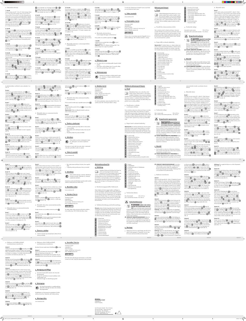 Powerfix Aluminium Insect Door Screen User Manual | Page 2 / 2