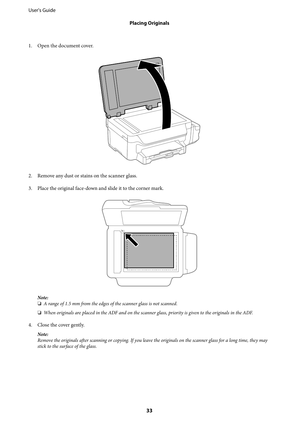 Epson EcoTank ET-4550 User Manual | Page 33 / 145 | Also for