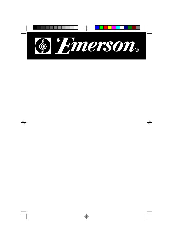 Emerson Radio Ms9600 User Manual