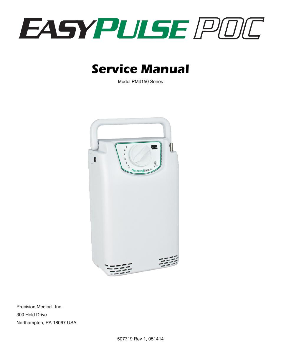 Airsep Visionaire 5 Service Manual