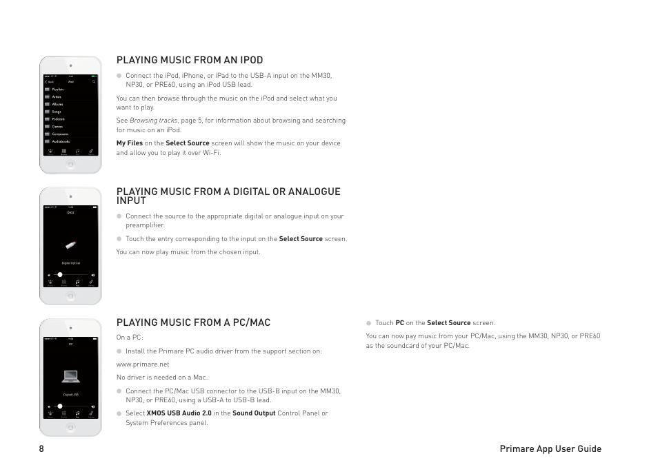 Primare MM30 media board User Manual | Page 8 / 12 | Also