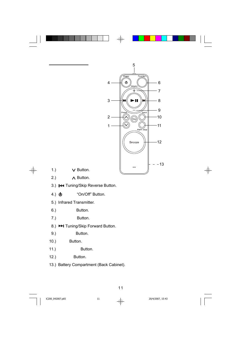 remote control emerson ic200 user manual page 12 48 rh manualsdir com Broderson IC 200 3F Manual Ibanez Iceman IC200