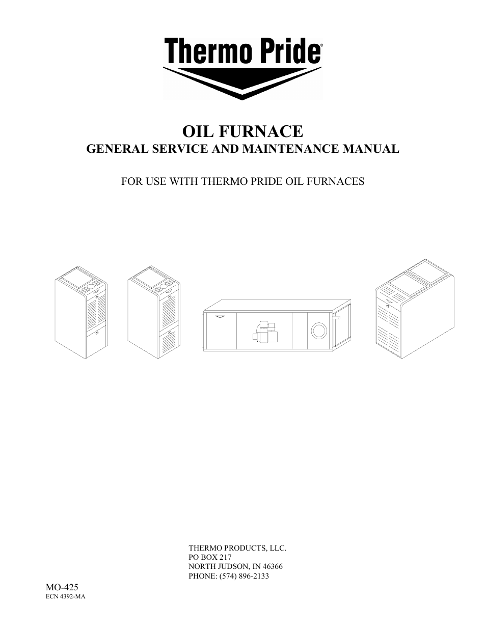 Thermo Pride Oil Furnace Wiring Schematic Diagrams Schema Miller Diagram General Service And Maintenance User Armstrong