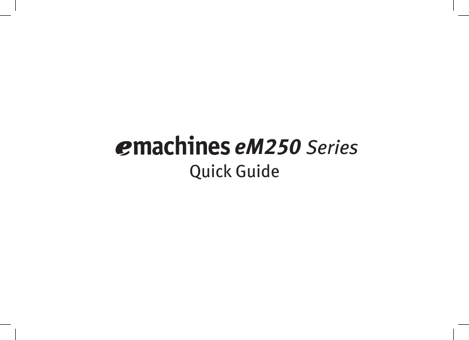 emachines em250 series user manual 12 pages also for kav60 250 rh manualsdir com eMachines Wallpaper eMachines Desktop