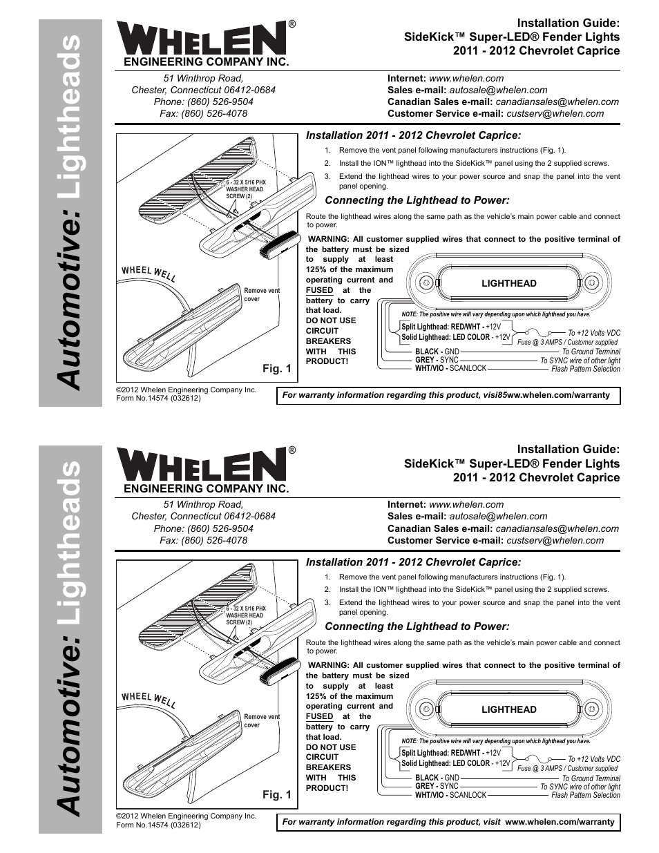 whelen sk02jj user manual