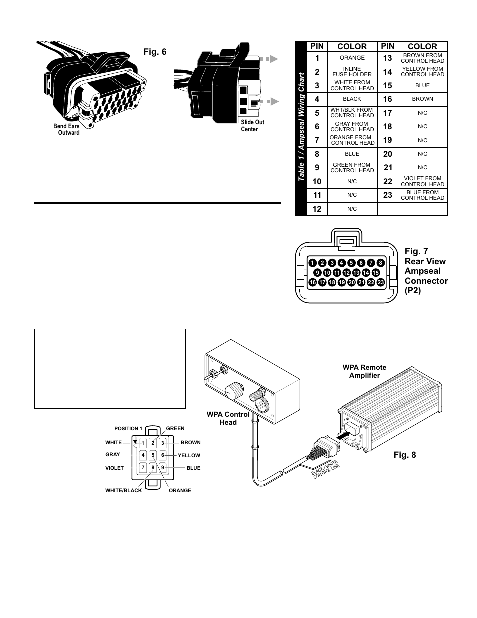Whelen Light Controller Wiring Diagram Electrical Diagrams Jerr Dan Strobe Fig 7 8 Lighting Control Wpa1 User Manual Page 5 Signal