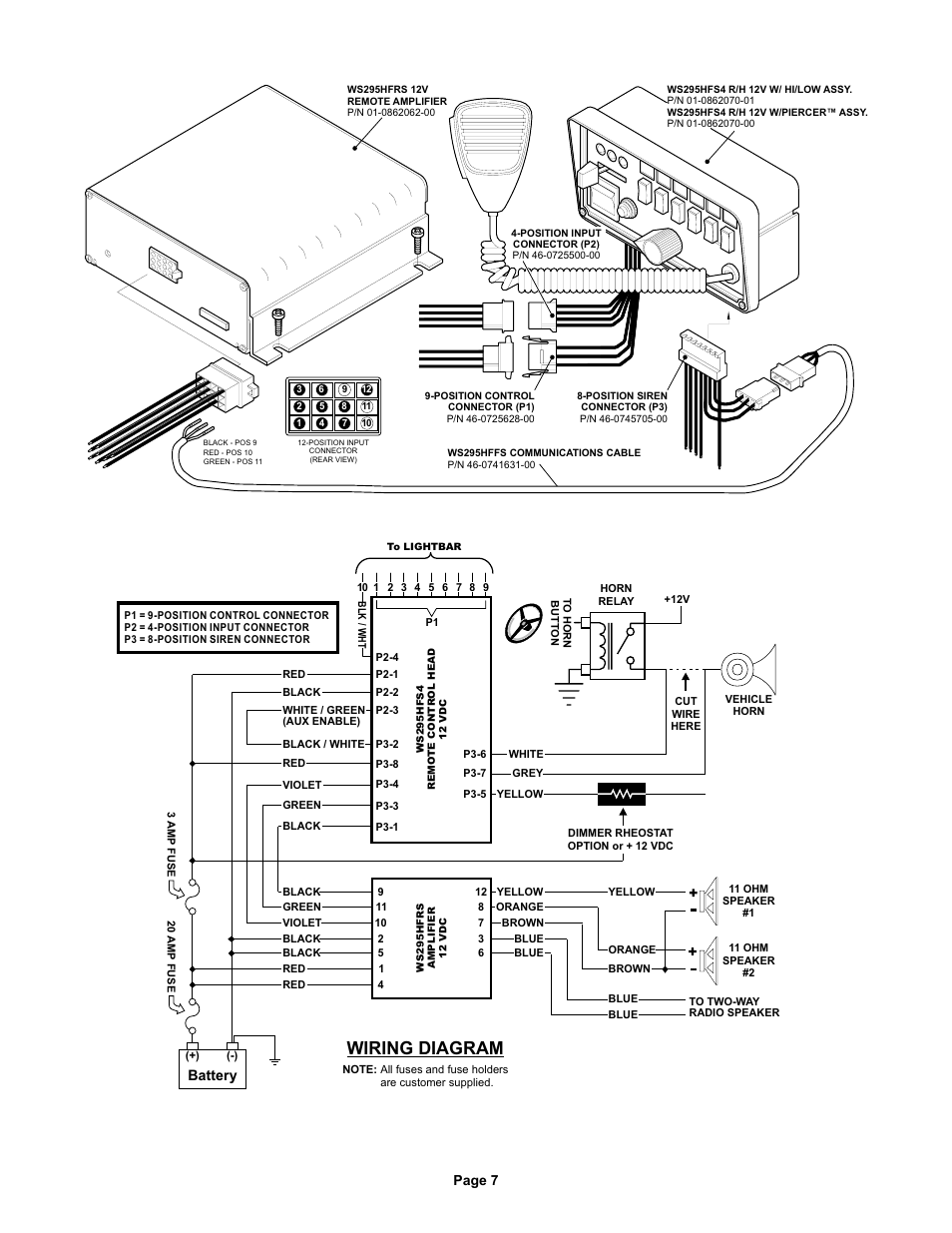 wiring diagram for whelen edge 9m for a new telephone wiring diagram for installation whelen 295hfsa5 wiring diagram | online wiring diagram