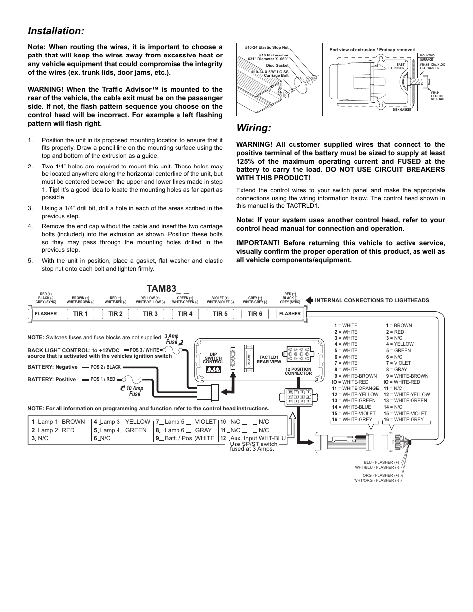 Whelen Traffic Advisor Wiring Diagram - Diagram Design Sources cable-tooth  - cable-tooth.lesmalinspres.fr | Whelen Traffic Advisor Wiring Diagram |  | diagram database