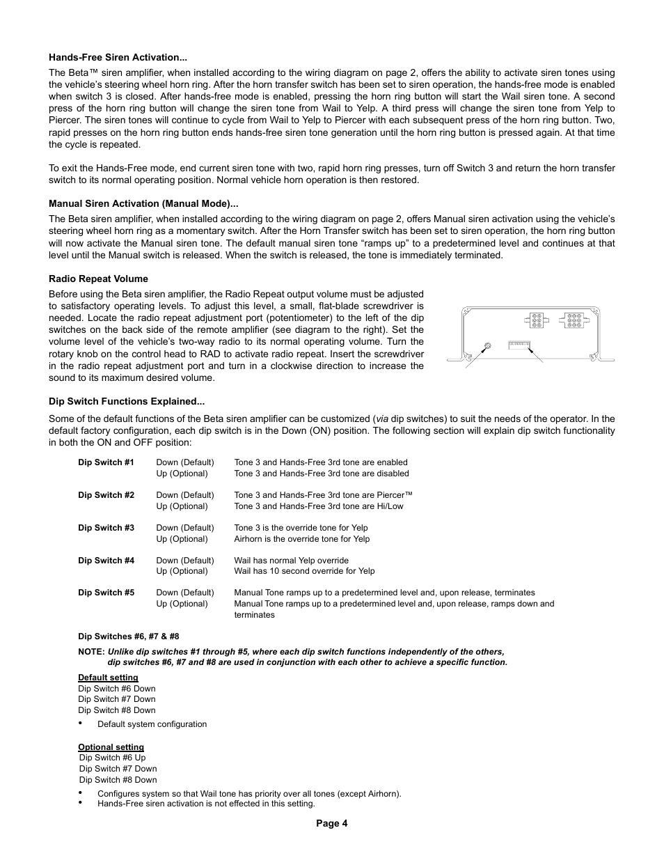 whelen beta124r user manual page 4 6 whelen liberty wiring-diagram whelen beta siren wiring #28
