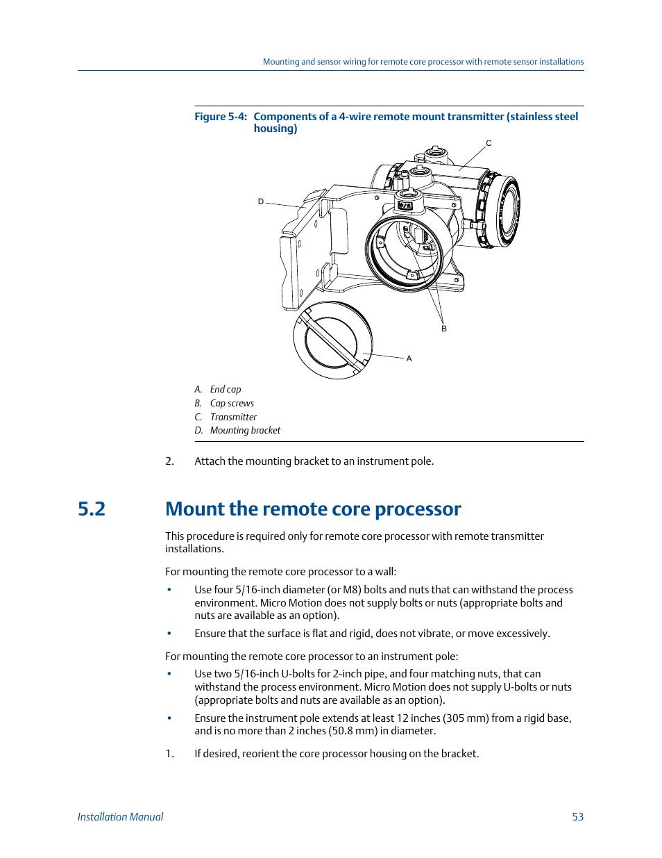 mount the remote processor 2 mount the remote processor emerson micro motion 1700