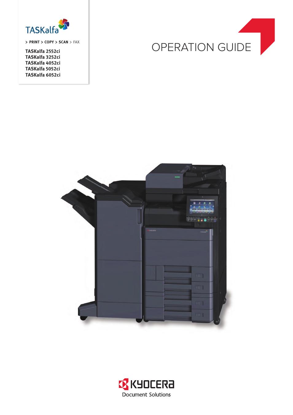 Kyocera TASKalfa 2552ci User Manual | 682 pages