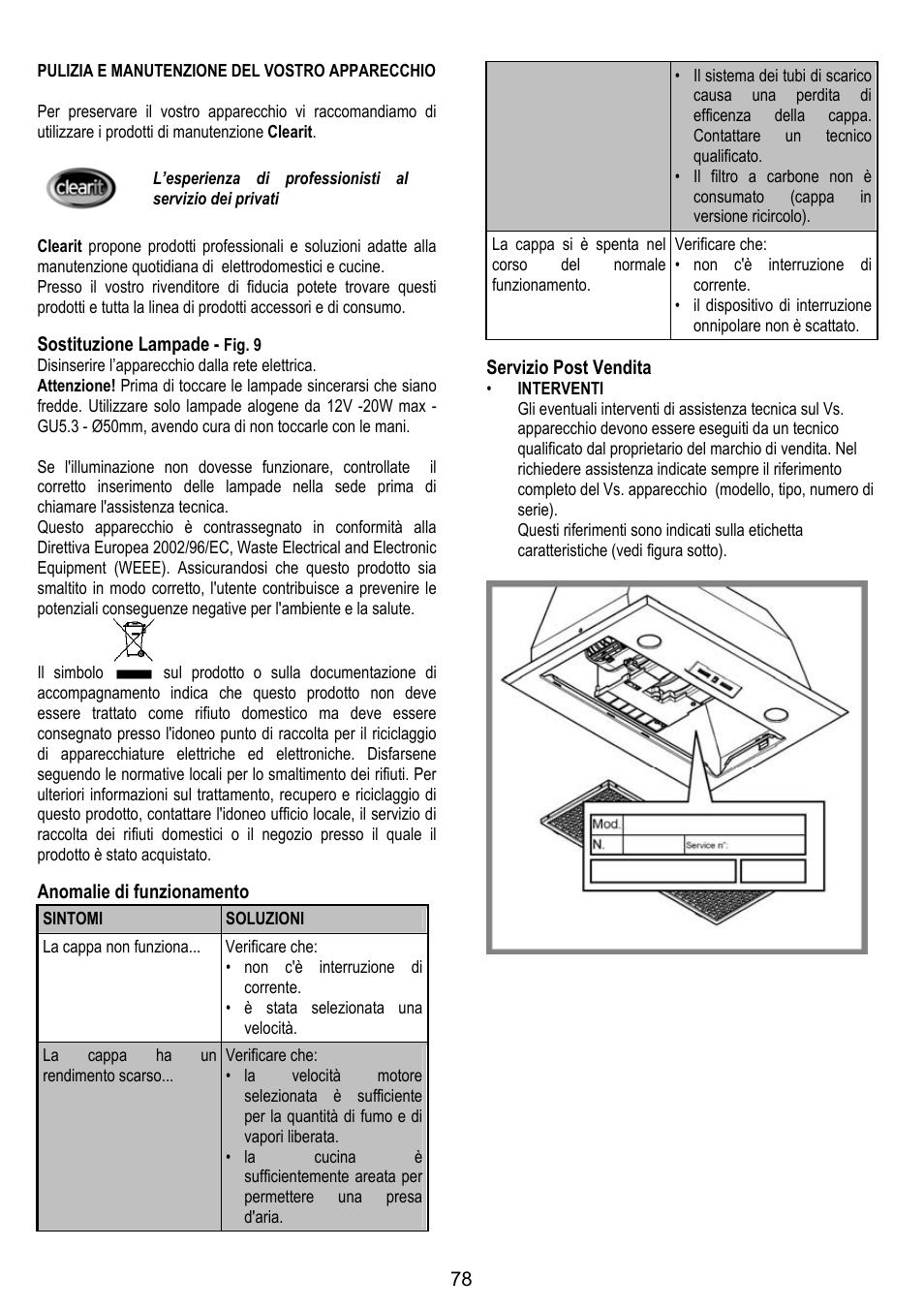 DE DIETRICH DHG1166X User Manual | Page 78 / 120 | Original mode ...