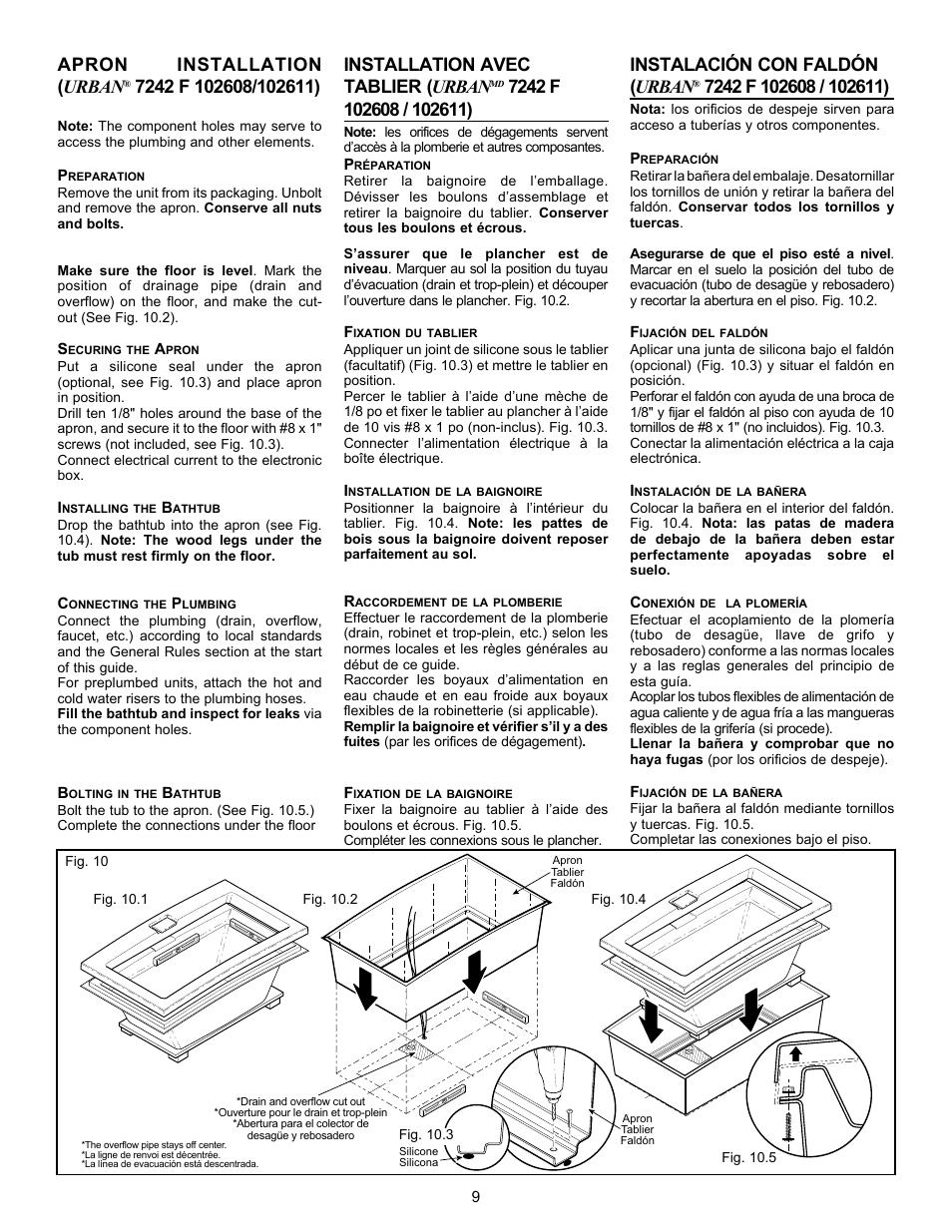apron installation urban installation avec tablier urban rh manualsdir com Installation Guide manual installation autocad express tools