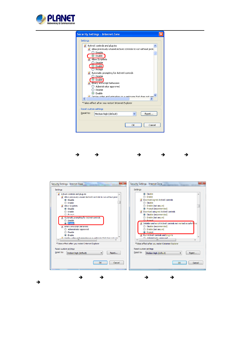 3 internet explorer 7 for windows vista planet ica 3260 user rh manualsdir com windows vista user manual pdf Operators Manual