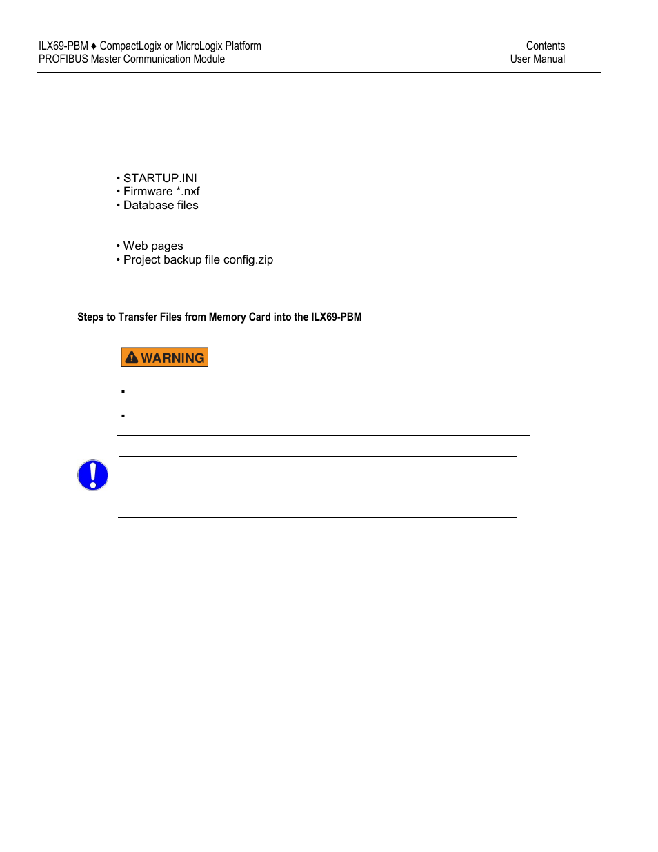 ProSoft Technology ILX69-PBM User Manual | Page 59 / 124