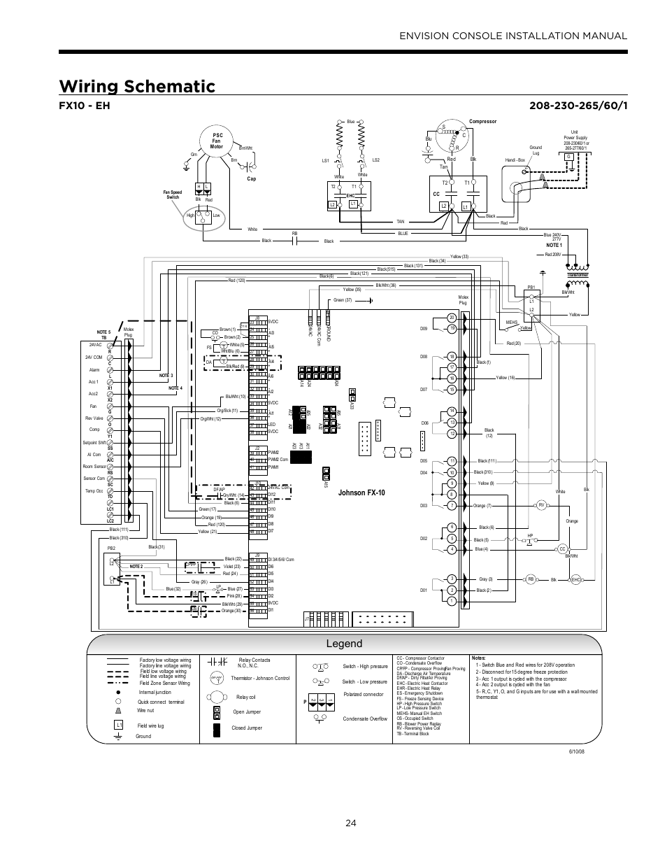 Waterfurnace Wiring Diagram Diagrams Source Legend Car Schematic Envision Console Installation Manual
