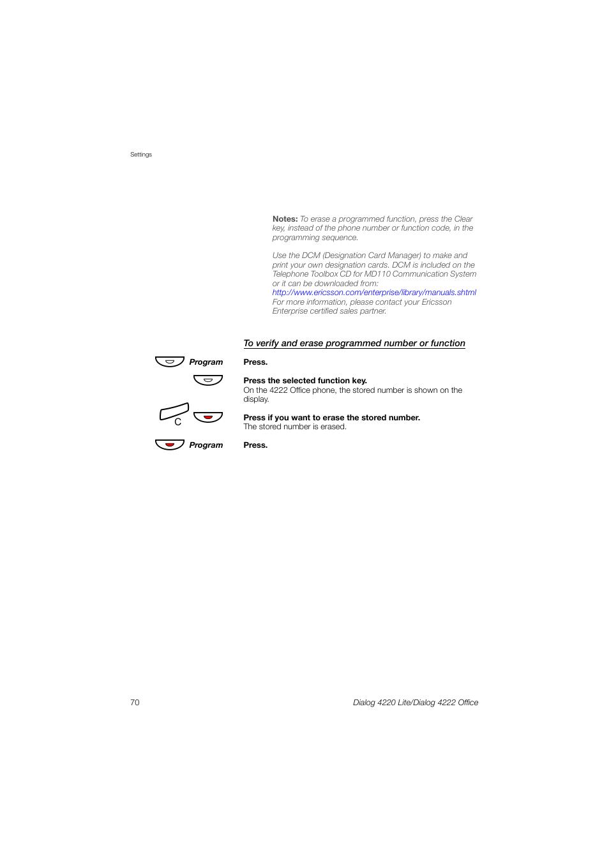 Нх ф | Ericsson DIALOG 4220 User Manual | Page 70 / 102