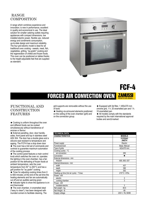 electrolux zanussi professional fcfe043 user manual 2 pages also rh manualsdir com zanussi electrolux gas cooker manual zanussi electrolux gas cooker manual