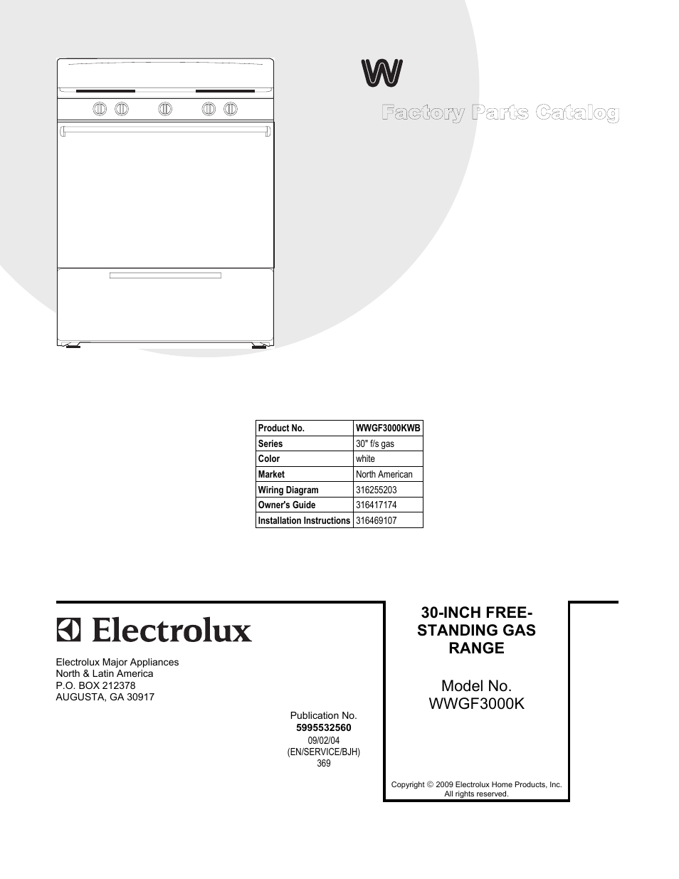 Wiring Diagram Westinghouse Fridge : Electrolux white westinghouse wwgf kwb user manual