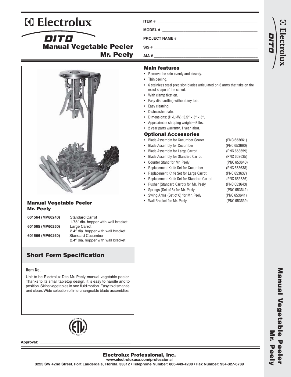 electrolux dito mp60250 user manual 2 pages also for dito rh manualsdir com Electrolux Dito Dean TR 22 Electrolux Dito Parts