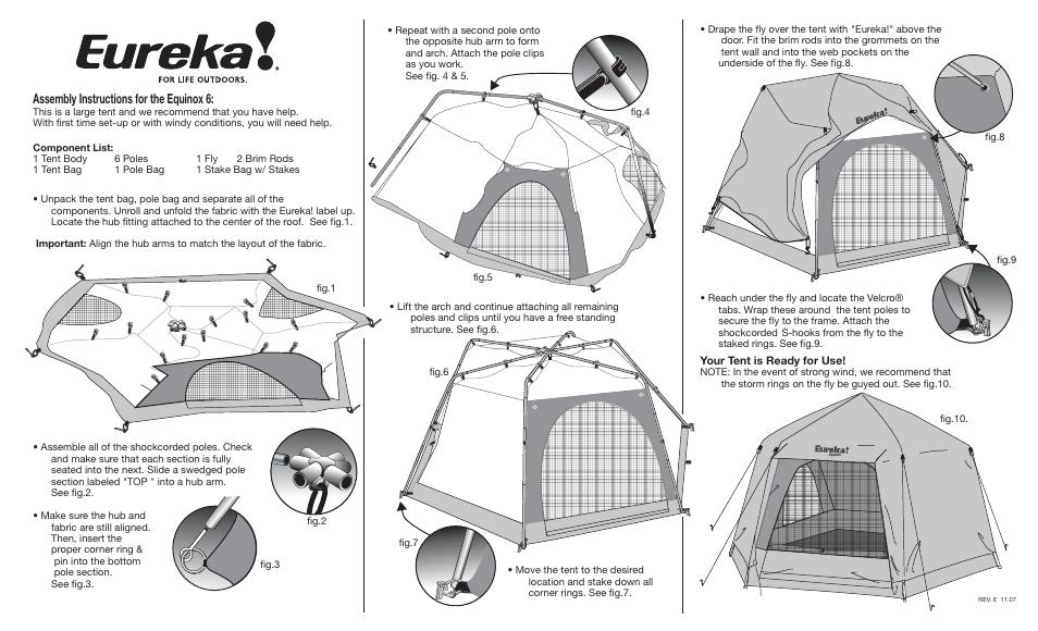 sc 1 st  ManualsDir.com & Eureka Equinox 6 User Manual | 2 pages