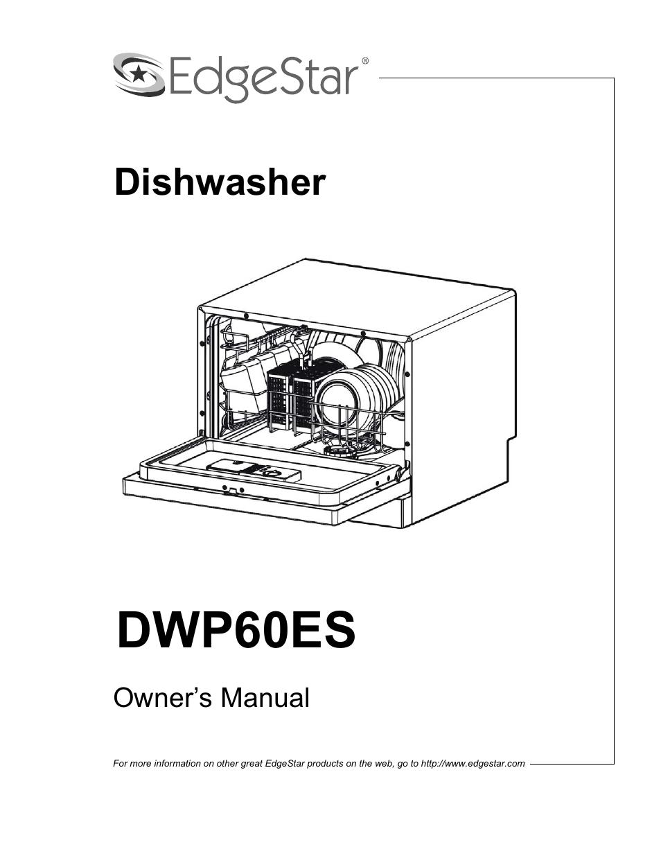edgestar dwp60es user manual 24 pages rh manualsdir com EdgeStar Ice Maker EdgeStar Ice Maker