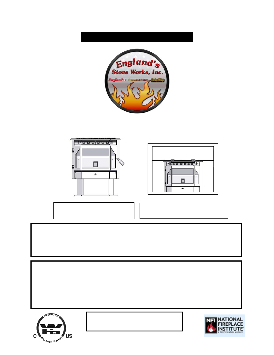 england stove works pellet stove manual