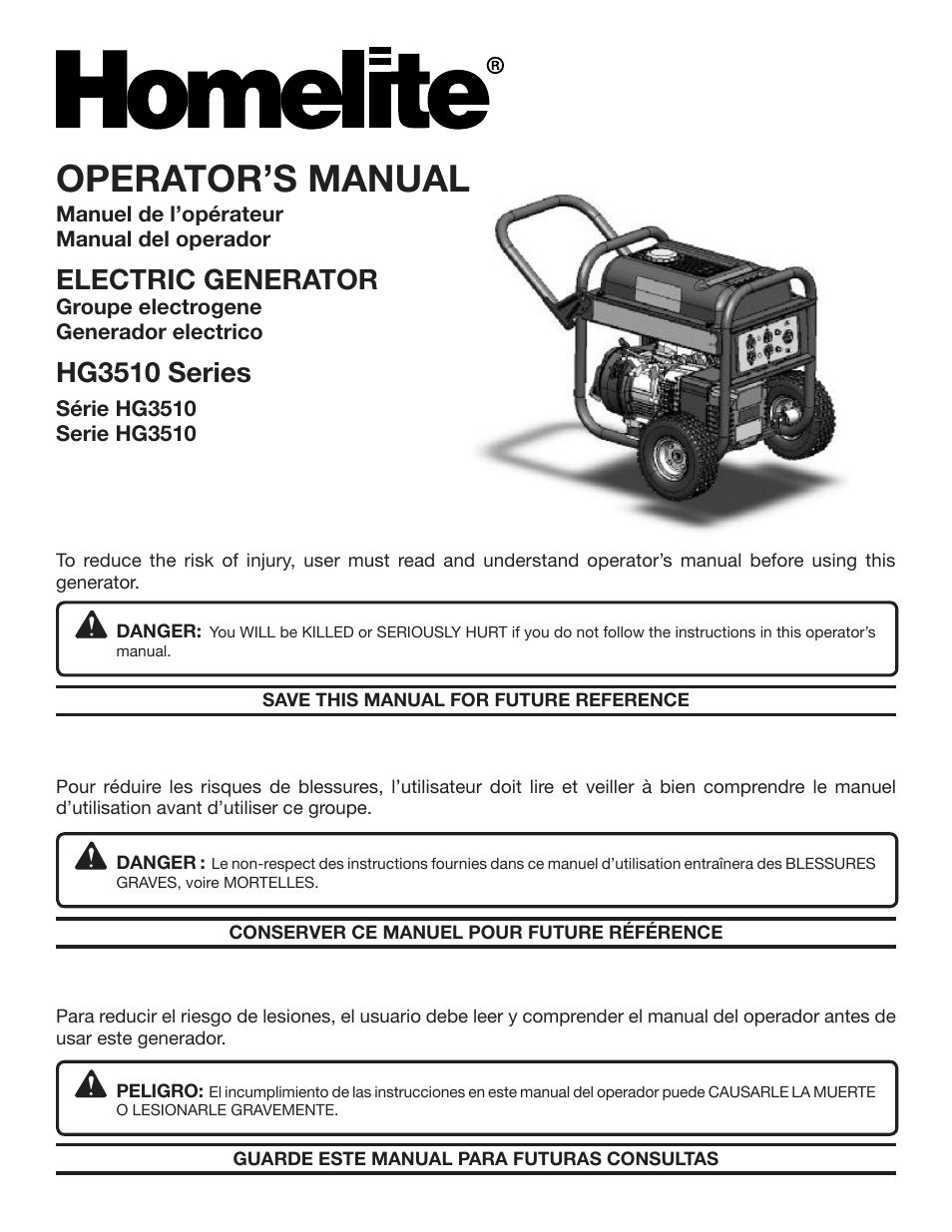 homelite hg3510 user manual 44 pages rh manualsdir com Homelite 330 Owner's Manual Homelite Blower Vac Manual